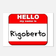 Hello my name is Rigoberto Postcards (Package of 8