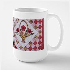 Trudy's Flower Baskets Ceramic Mugs