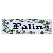 Palin Climbing Ivy Unique Bumper Bumper Sticker