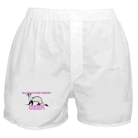 Black-Footed Ferret Geek Boxer Shorts