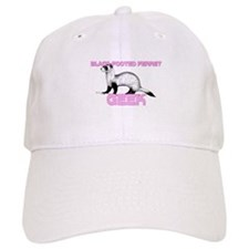 Black-Footed Ferret Geek Baseball Cap
