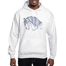 Horse Head Art Hoodie