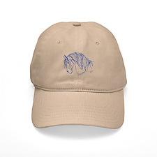 Horse Head Art Baseball Cap