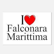 """I Love (Heart) Falconara Marittima"" Postcards (Pa"