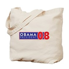 OBAMA 08 FOR PRESIDENT Tote Bag