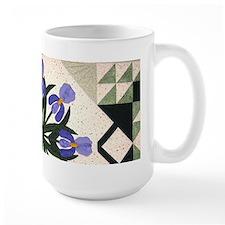 blue & purple iris Coffee Mug