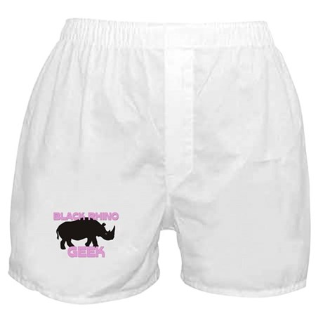 Black Rhino Geek Boxer Shorts