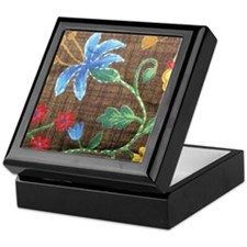Trudy's Floral Keepsake Box