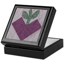 Purple Heartfruit Keepsake Box