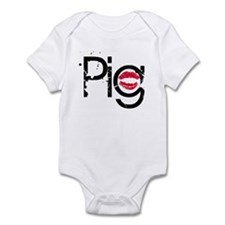 Lipstick on a Pig Infant Bodysuit