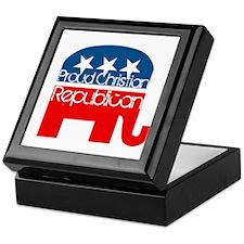 Proud Christian Republican Keepsake Box