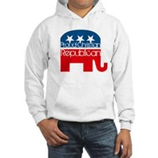 Proud Christian Republican Hoodie