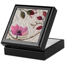 Wild Pink Rose Keepsake Box