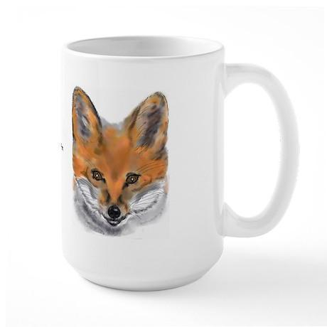 Red Fox Large Mug