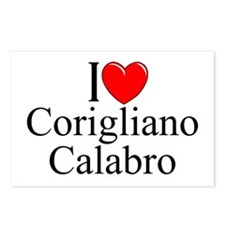 """I Love (Heart) Corigliano Calabro"" Postcards (Pac"