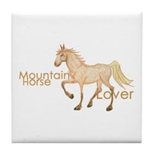 Mountain Horse Tile Coaster