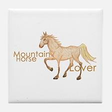 Mountain Horse Tile Coaster