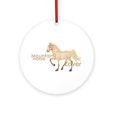 Mountain Horse Ornament (Round)