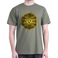 Hexagram of Solomon Tee (Dark)