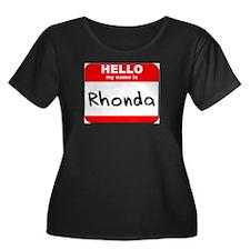 Hello my name is Rhonda T
