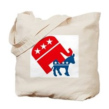 Republicans and Democrats3. Tote Bag