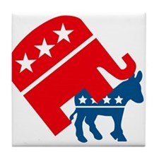Republicans and Democrats3. Tile Coaster