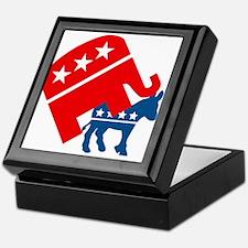 Republicans and Democrats3. Keepsake Box