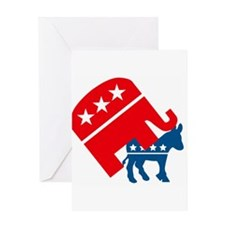 Republicans and Democrats3. Greeting Card