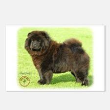 Chow Chow 9B011D-08 Postcards (Package of 8)