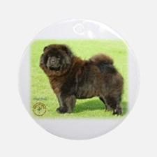 Chow Chow 9B011D-08 Ornament (Round)