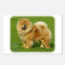 Chow Chow 9B008D-17 Postcards (Package of 8)