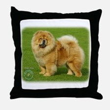 Chow Chow 9B008D-17 Throw Pillow
