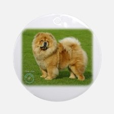 Chow Chow 9B008D-17 Ornament (Round)
