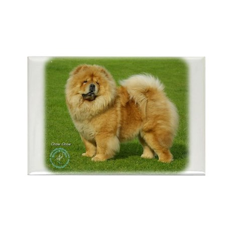 Chow Chow 9B008D-17 Rectangle Magnet (10 pack)