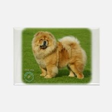 Chow Chow 9B008D-17 Rectangle Magnet (100 pack)