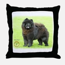 Chow Chow 9B008D-25 Throw Pillow