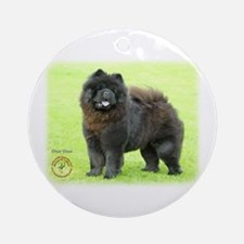 Chow Chow 9B008D-25 Ornament (Round)