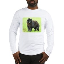 Chow Chow 9B008D-25 Long Sleeve T-Shirt