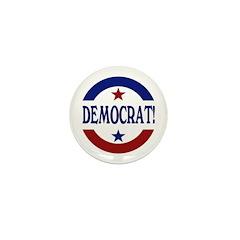 Democrat! Mini Button (100 pack)