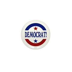 Democrat! Mini Button (10 pack)