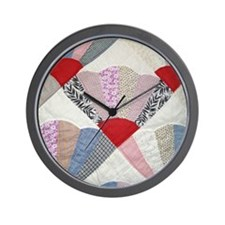 Vintage Shirt Factory Remnant Fans Wall Clock