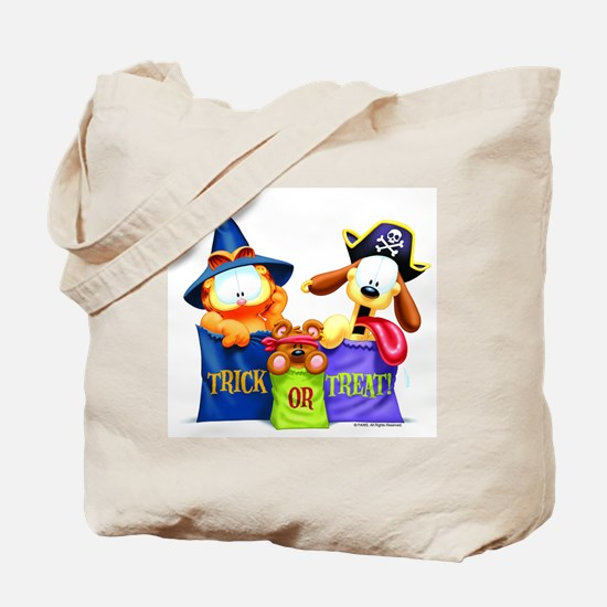 Garfield Trick or Treat Tote Bag