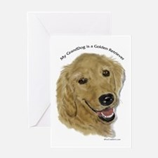 Golden Retriever GrandDog Greeting Card