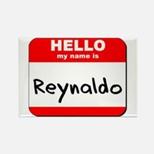 Hello my name is Reynaldo Rectangle Magnet