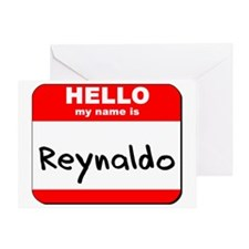 Hello my name is Reynaldo Greeting Card