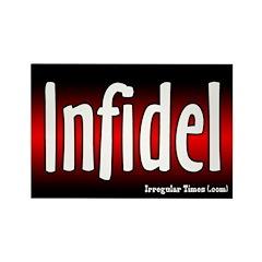 Infidel Rectangle Magnet