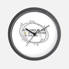 Funny Timing Wall Clock