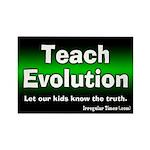 Teach Evoluton Magnet Rectangle