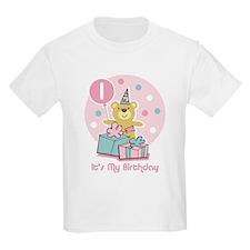Teddy Bear Birthday 1st T-Shirt