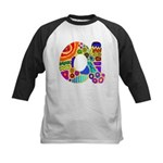 Monogram A Kids Baseball Jersey